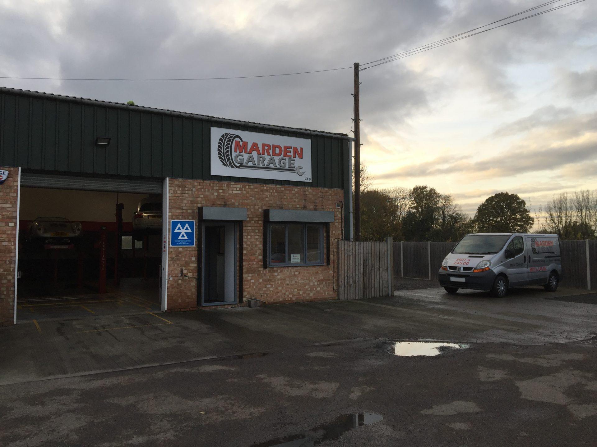 Marden Garage, Kent